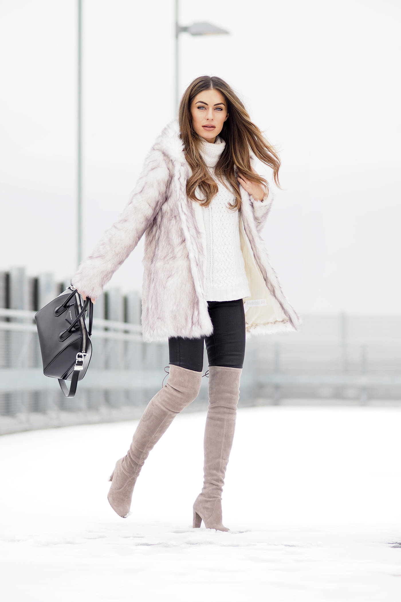 winter outfits with boots